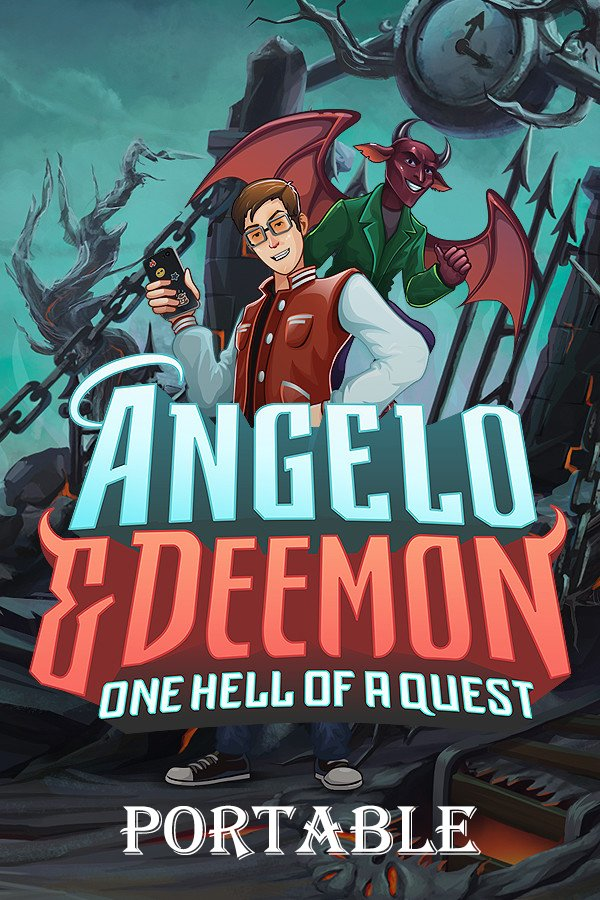Angelo and Deemon: One Hell of a Quest (Build 4260198) [Portable] (2019) PC | Лицензия